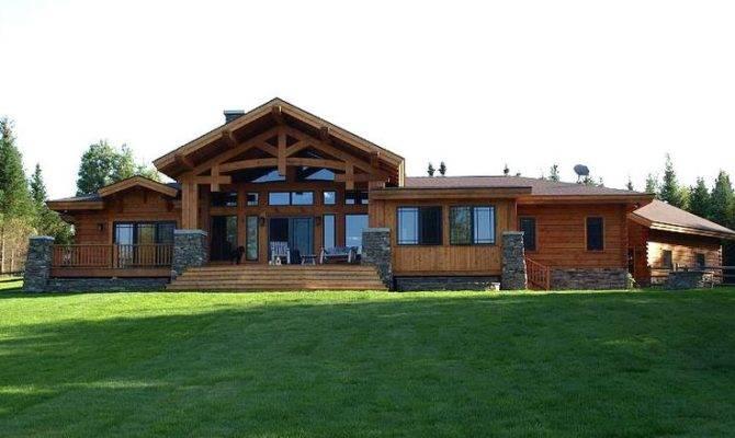 Wood River Floor Plan Timber Frame Log Homes