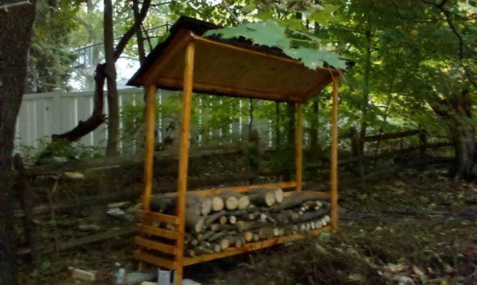 Wood Shed Plans Keep Firewood Dry Self