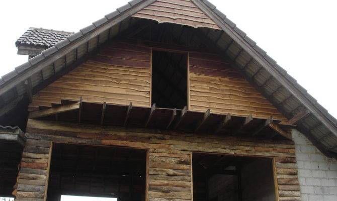 Wood Siding Earthbag Houses