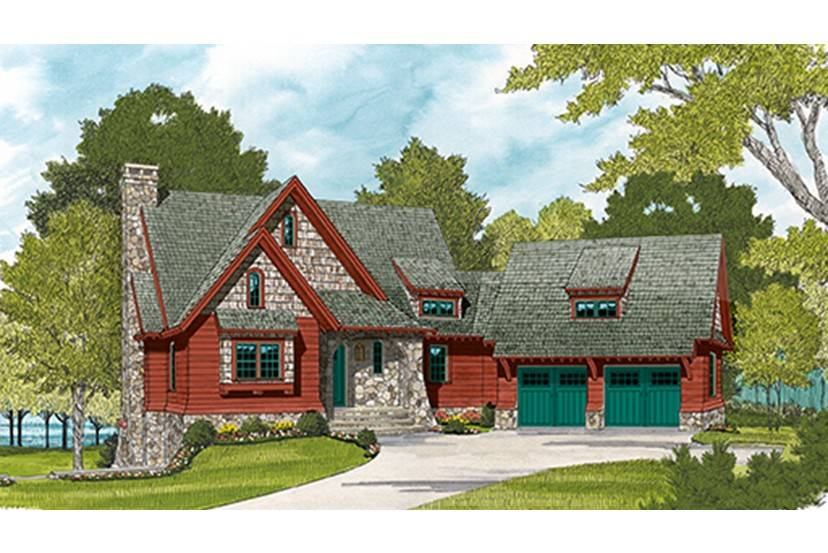 Wood Stone Cottage Hwbdo Builderhouseplans