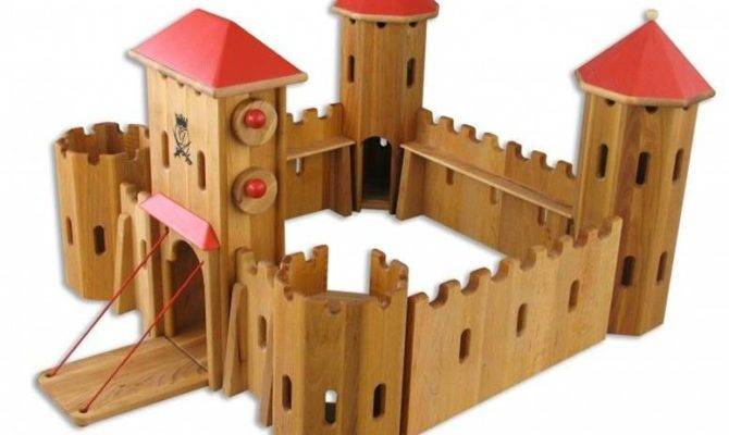 Wooden Castle Toy Pdf Plans Woodworking Resources