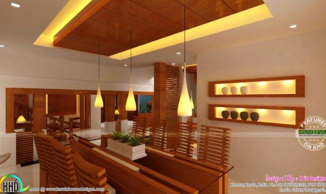 Wooden Finish Interior Designs Kerala Home Design