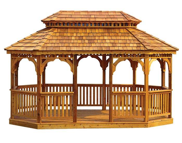 Wooden Gazebo Plans Build Perfect