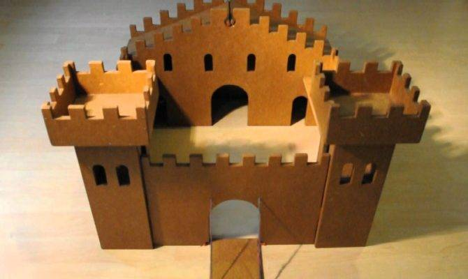 Wooden Toy Castle Youtube