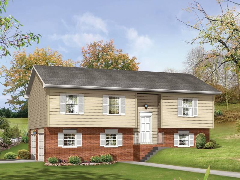 Woodland Split Level Home Plan House Plans
