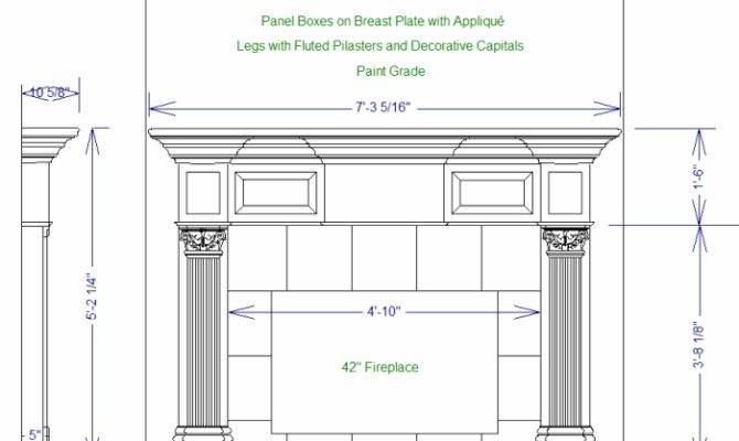 Woodwork Plans Wood Mantels Pdf House