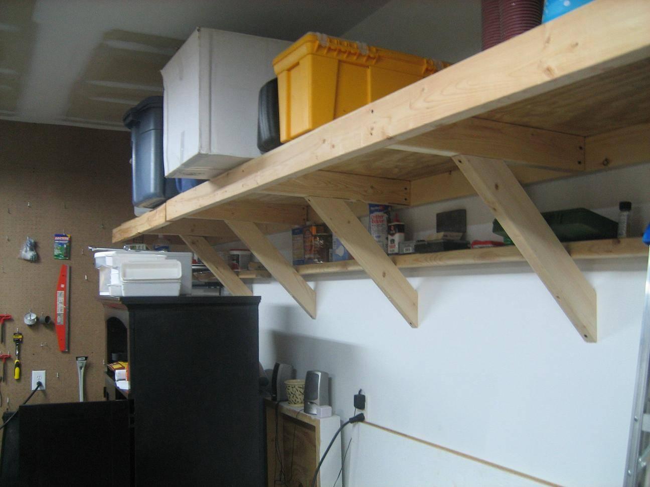 Woodworking Garage Shelving Plans Pdf