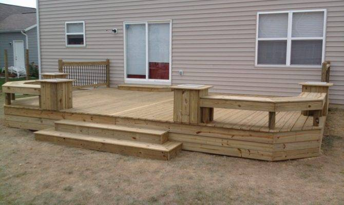 Woodworking Standing Deck Plans Pdf
