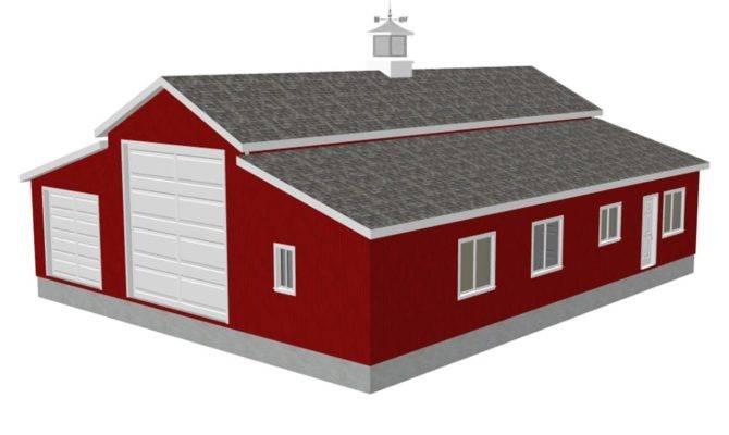 Workshop Apartment Barn Plans House Plan Reviews