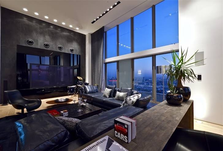 World Architecture Triplex Penthouse Apartment Pitsou Kedem