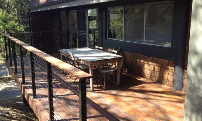 Wrap Around Deck Cable Railings