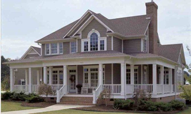 Wrap Around Porch House Plans Mytechref