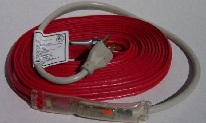 Wrap Pipe Heating Cable