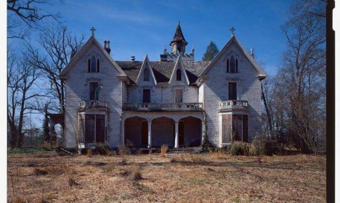 Wrightstown Gothic Revival Oakwood Mansion