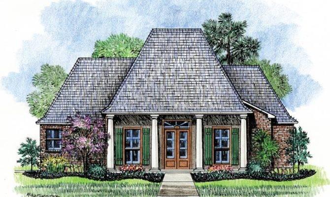 Wyatt Louisiana House Plans Acadian