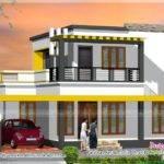 Yards House Elevation Plan Kerala Home Design Floor Plans