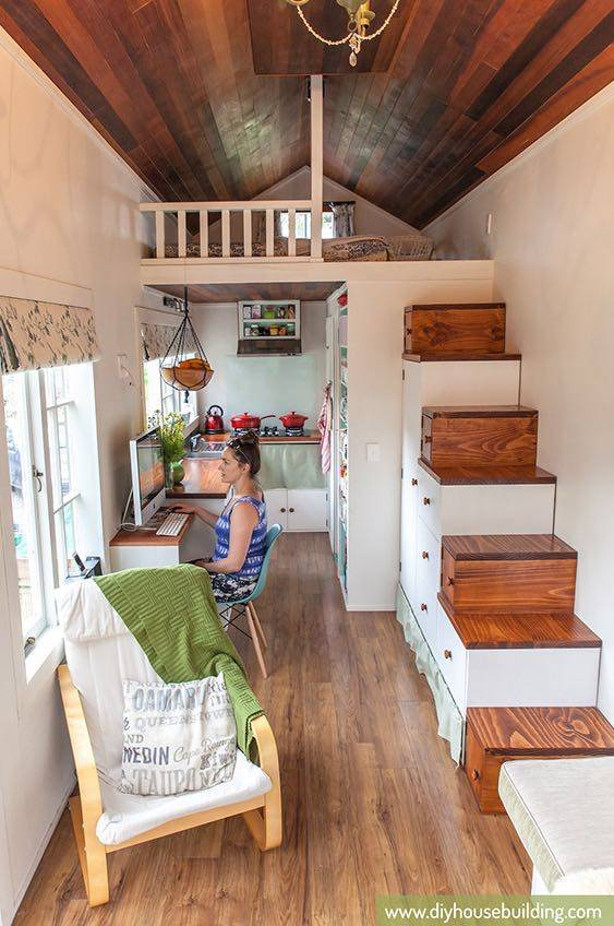 Young Diy Tiny House Wheels