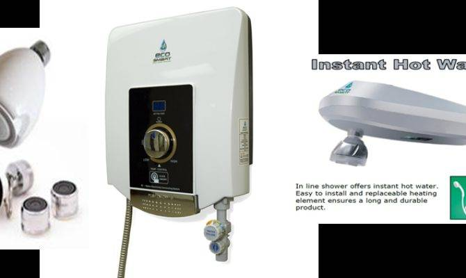 Your Ecosmart Tankless Water Heater Electric Shower Heaters