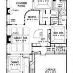 Zero Lot Line Patio Home Plans