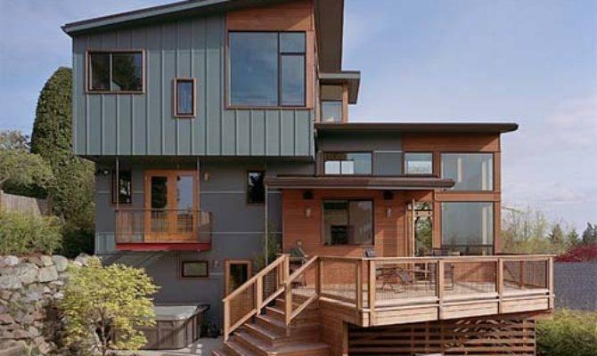 Zipper House Modern Remodel Deforest Architects